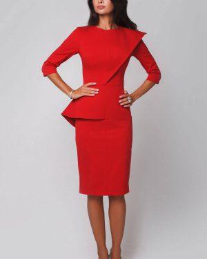 Модные офисные деловые платья